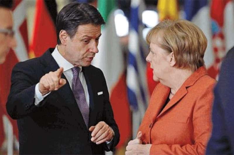 Ci risiamo. La Merkel arrabbiata con Conte, non vuole aiutare L'Italia e l'Europa!