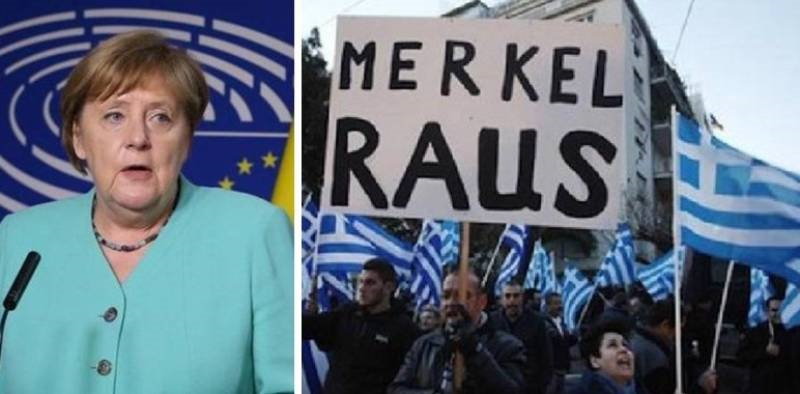 """Dietro agli """"aiuti"""" Ue: così la Germania si è presa la Greci"""