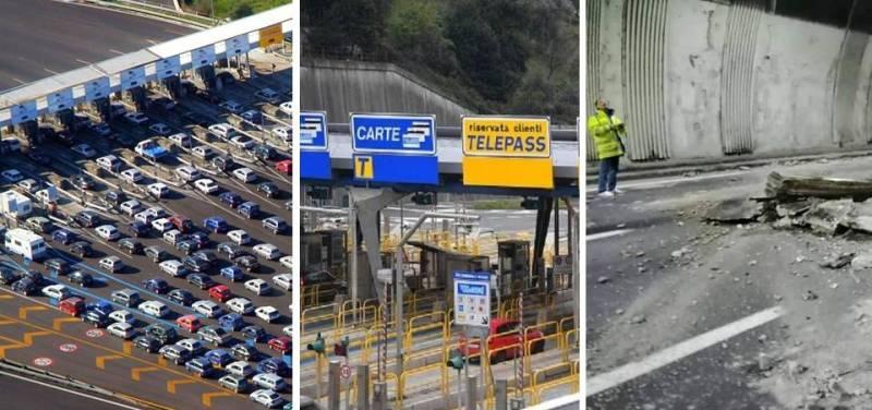 Le autostrade tornino in mano allo Stato: troppe le ineffici