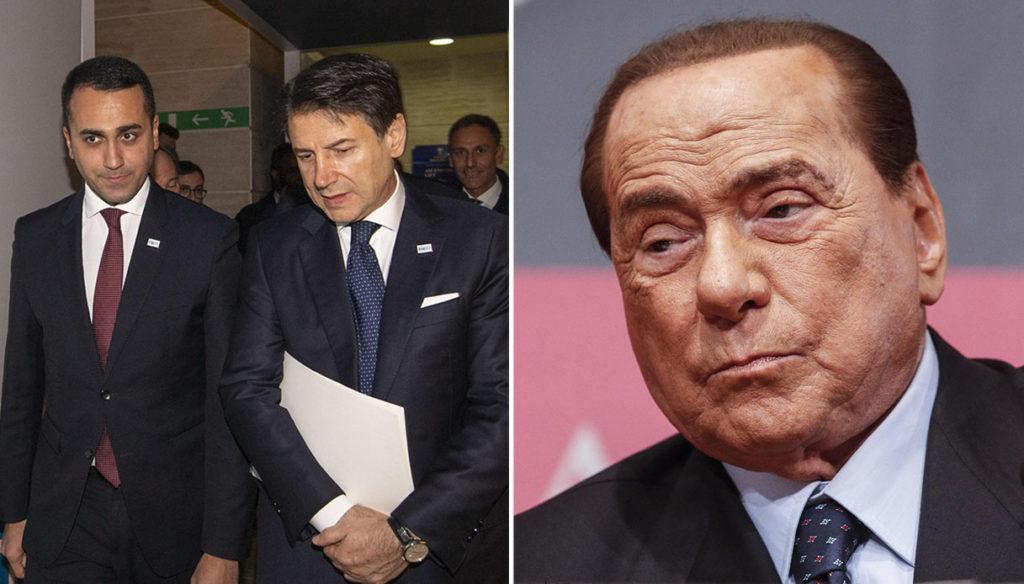 Berlusconi chiama, Conte e Di Maio rispondono: prove d'intesa tra Forza Italia e il governo