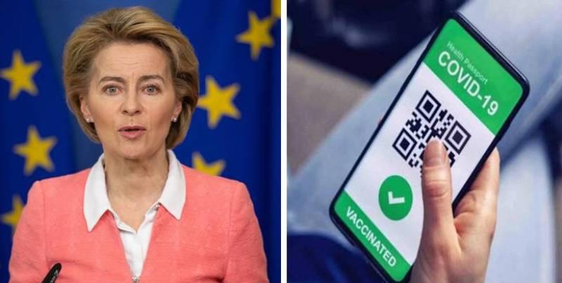 """L'Ue spinge per il """"passaporto vaccinale"""". Big informatica si leccano i baffi: quanti dati!"""