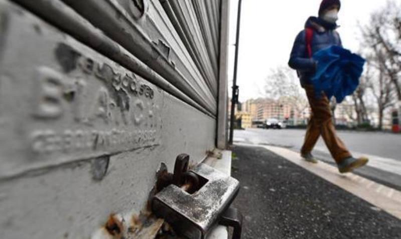 73mila imprese a rischio chiusura, 20mila al Sud per effetto pandemia